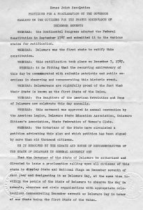 Photo of House Joint Resolution Number 3, Part 1